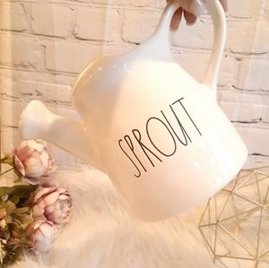 RAE DUNN SPROUT WATERING CAN